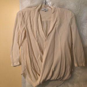 Babaton Aritzia Silk Blouse Size XXS